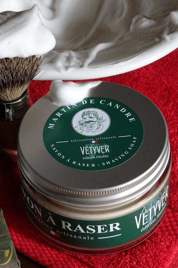 Shaving Soap - Vétyver - Limited Edition