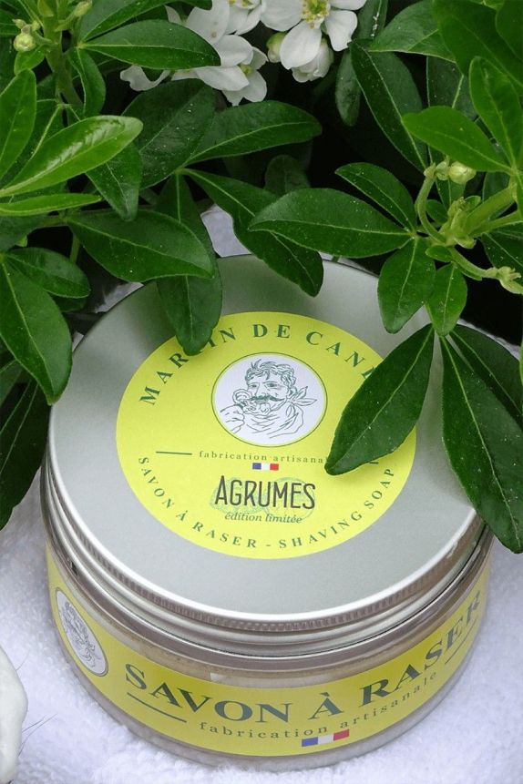 Citrus Shaving soap - Agrumes - Limited Edition