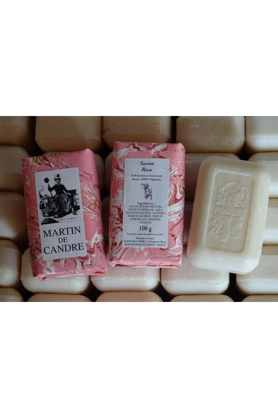 Ensemble Savon Rose