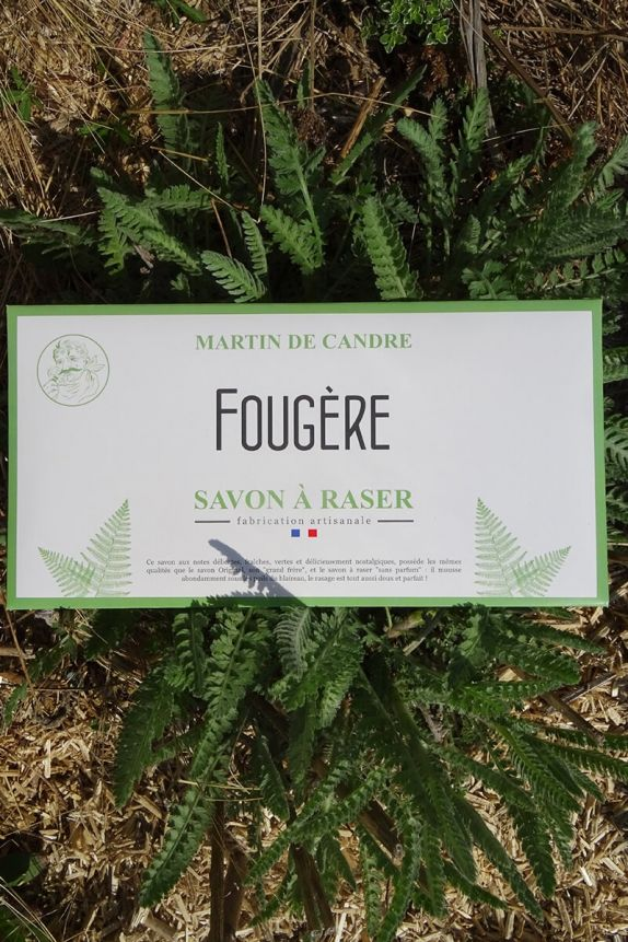 Shaving Soap Envelope - Fougère