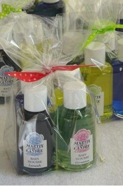 Bag of 4 assorted Bath & Shower Gels