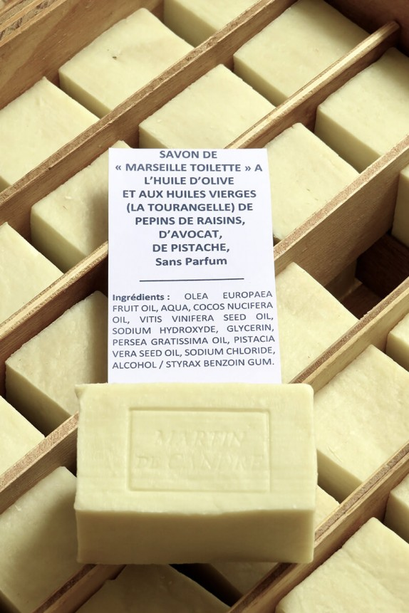 """MARSEILLE TOILETTE"" SOAP 4 oils"